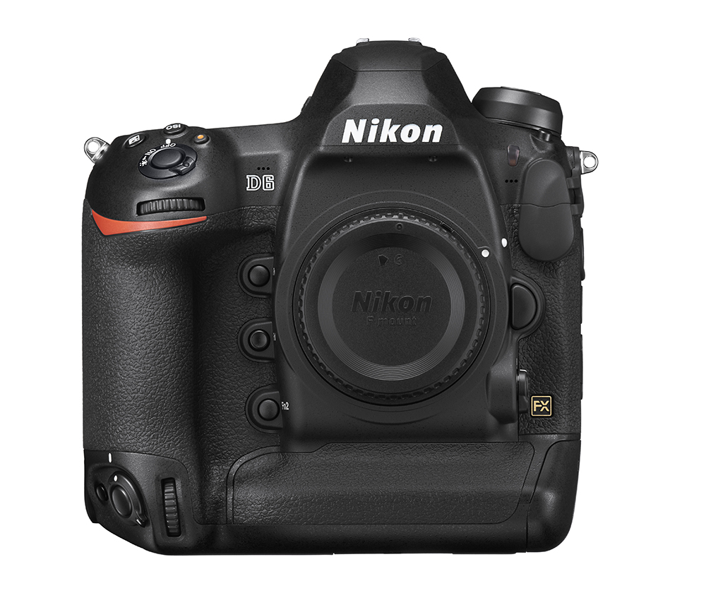 Nikon D6 with mount cap