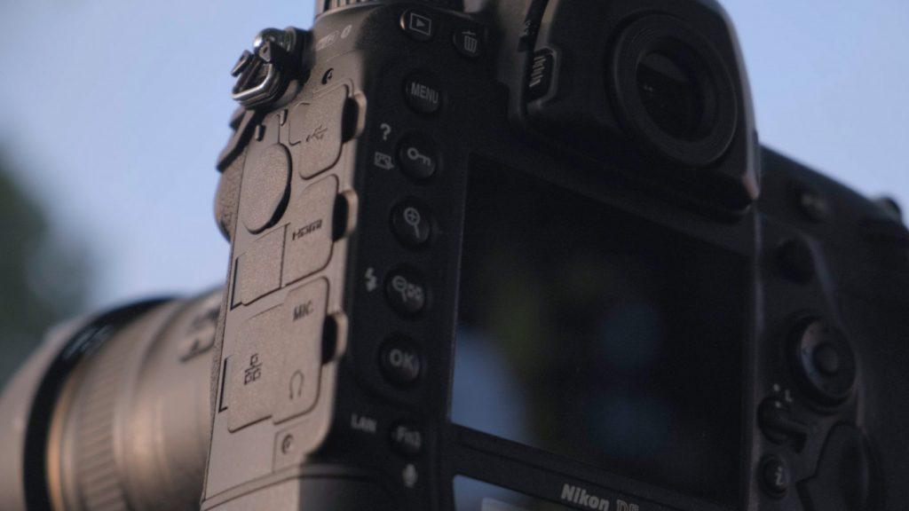 Nikon D6 Ports
