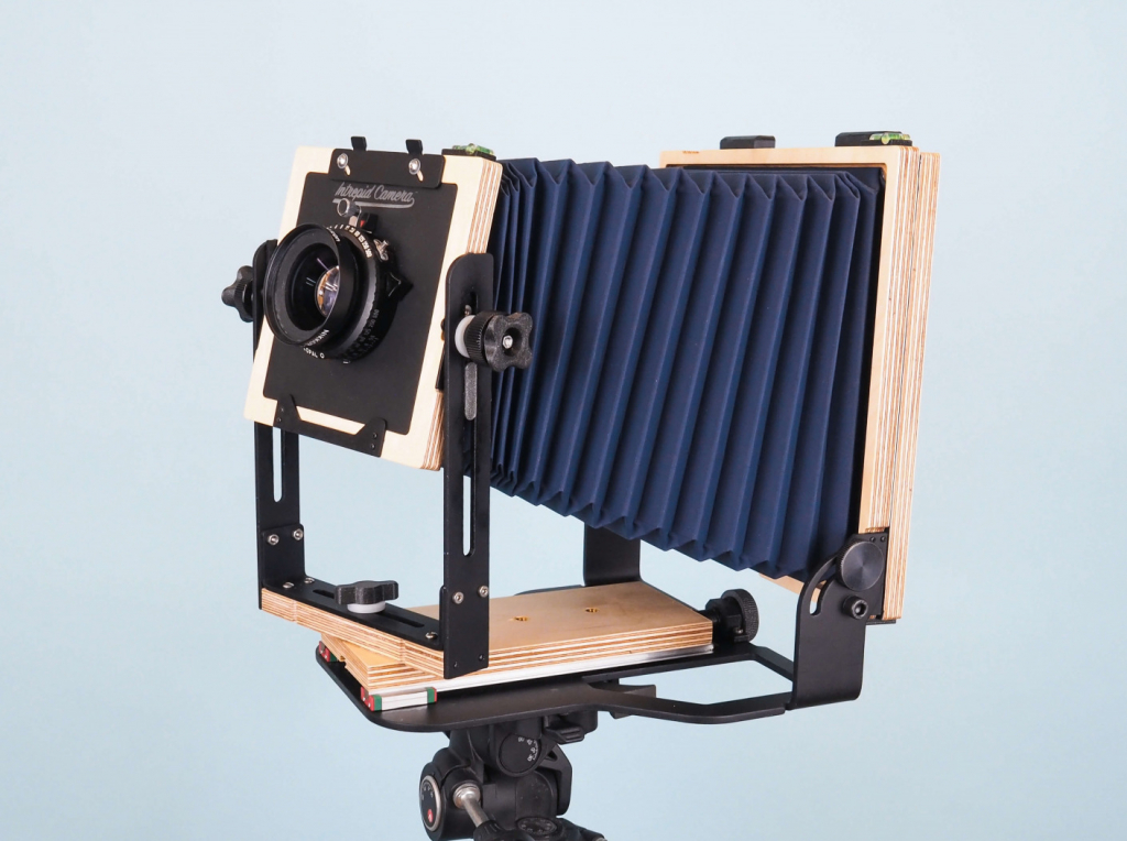 Intrepid 5x7 Camera left side