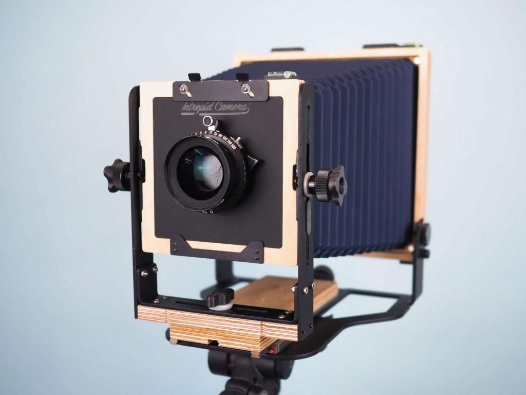Intrepid 5x7 Camera front