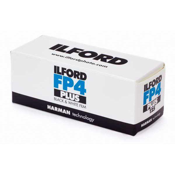 Ilford FP4 Plus 120 Medium Format Film box