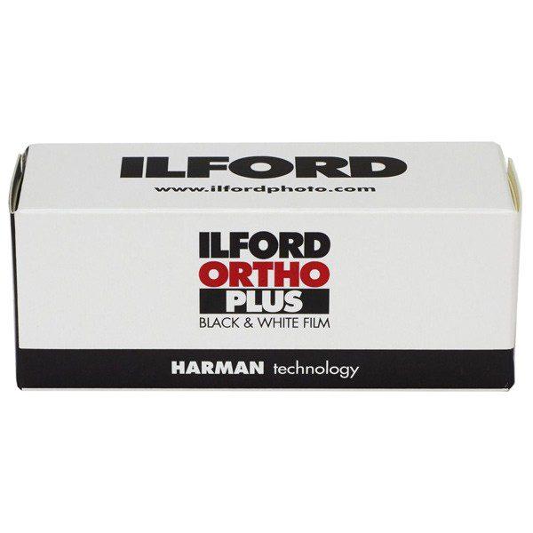 Ilford ORTHO PLUS 120 - Medium Format Film box