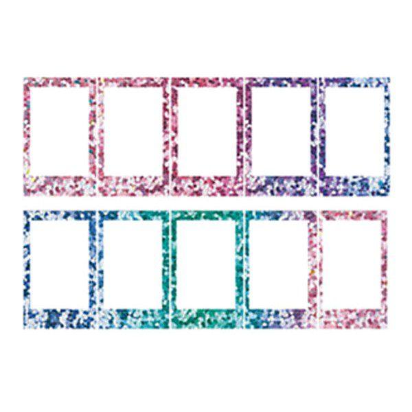 instax mini Confetti frames