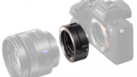 Read Sony Reveal New LA-EA5 35mm Full-Frame A-Mount Adapter