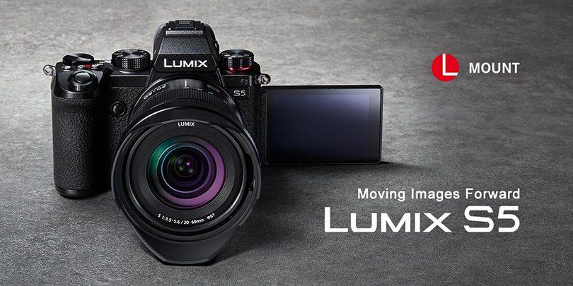 Lumix S5 hero image