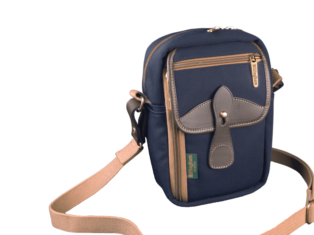 Billingham Navy Canvas stowaway