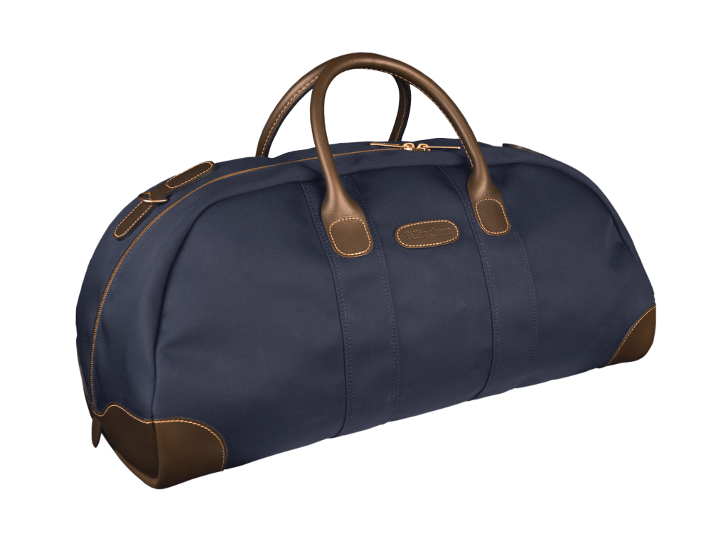 Billingham Navy Canvas Weekender