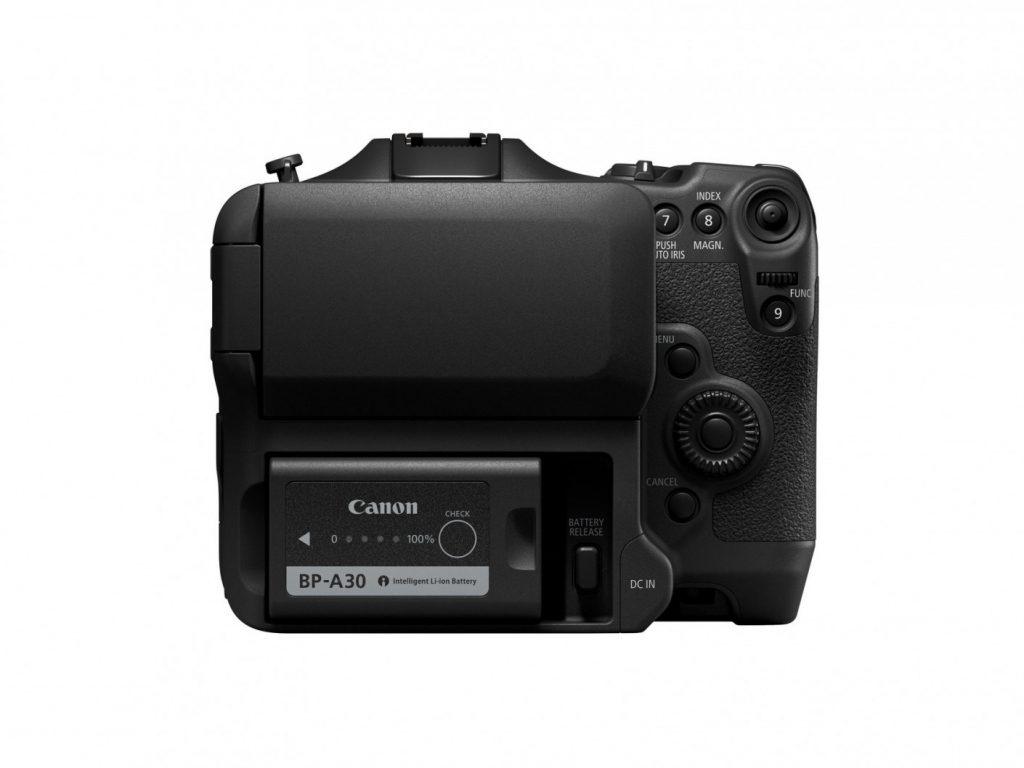 Canon EOS C70 rear