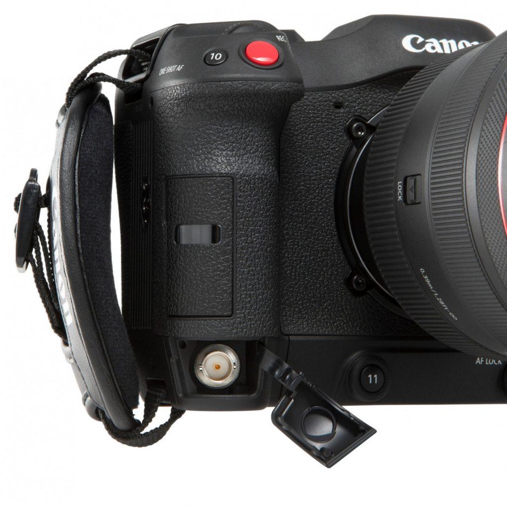 Canon EOS C70 handle