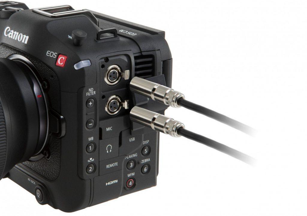Canon EOS C70 input
