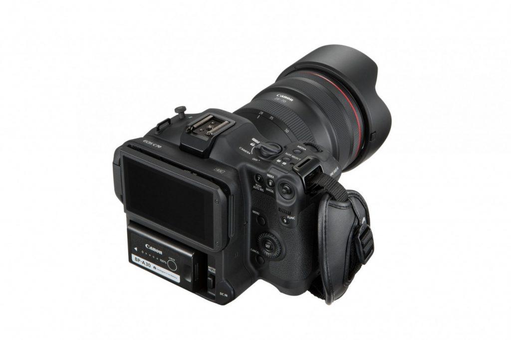 Canon EOS C70 top angle