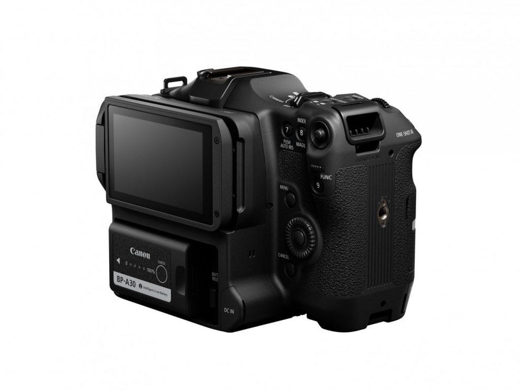 Canon EOS C70 rear angle