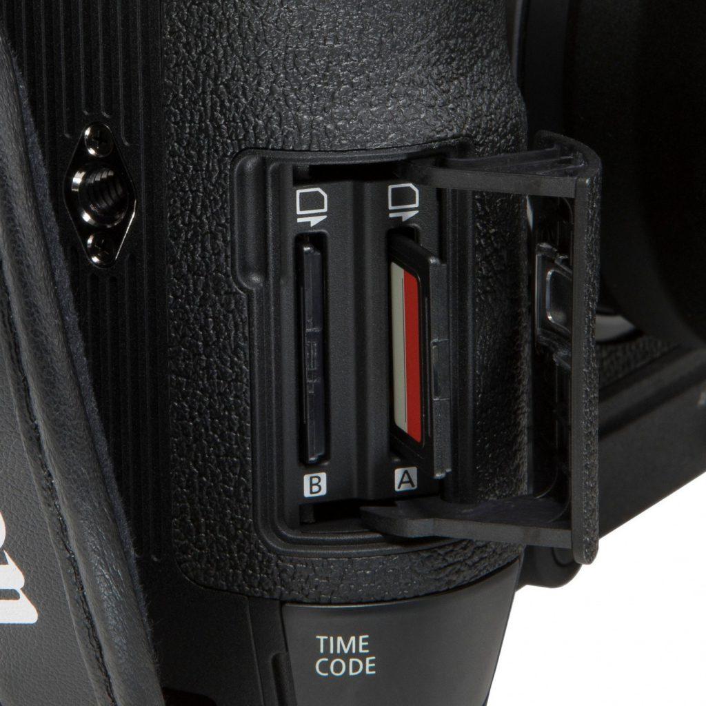 Canon EOS C70 dual card slot