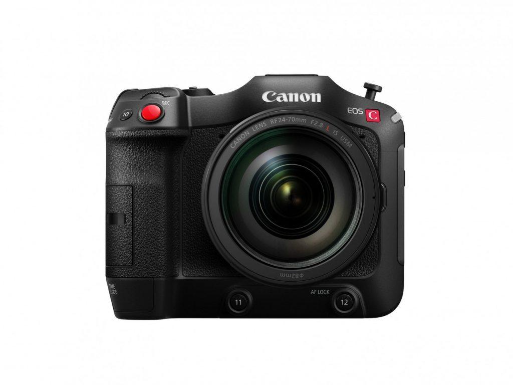 Canon EOS C70 front
