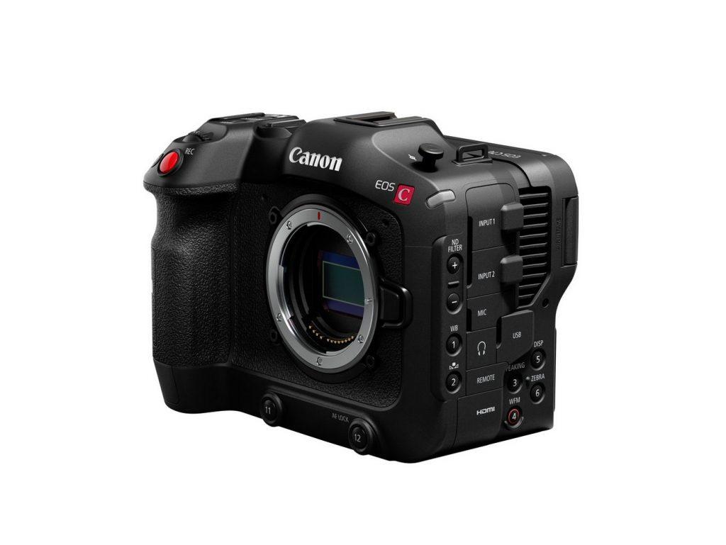 Canon EOS C70 open sensor