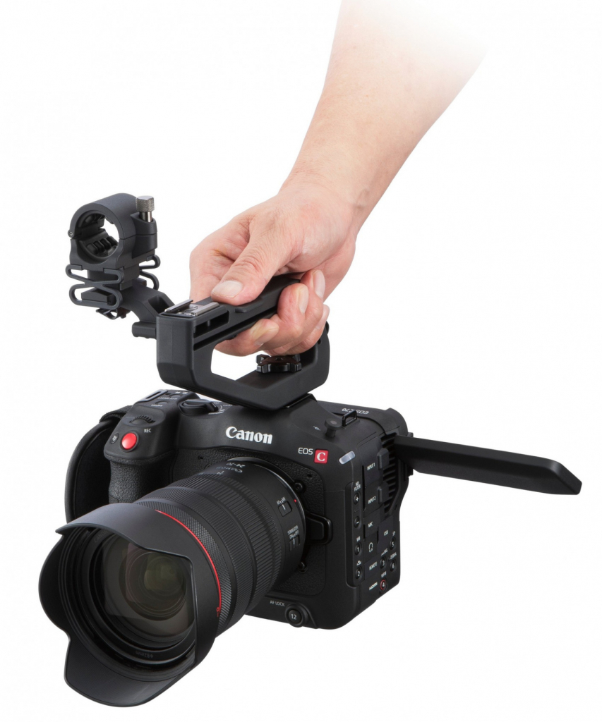 Canon EOS C70 with handle