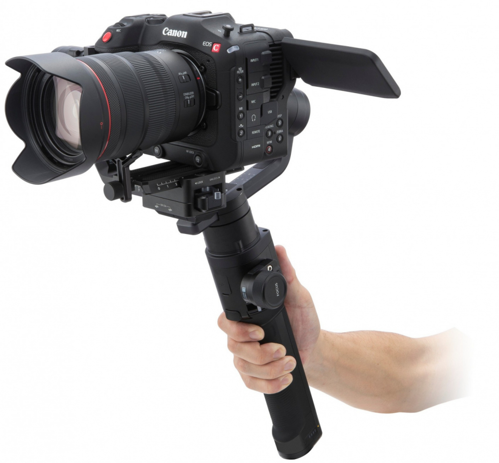 Canon EOS C70 with gimbal