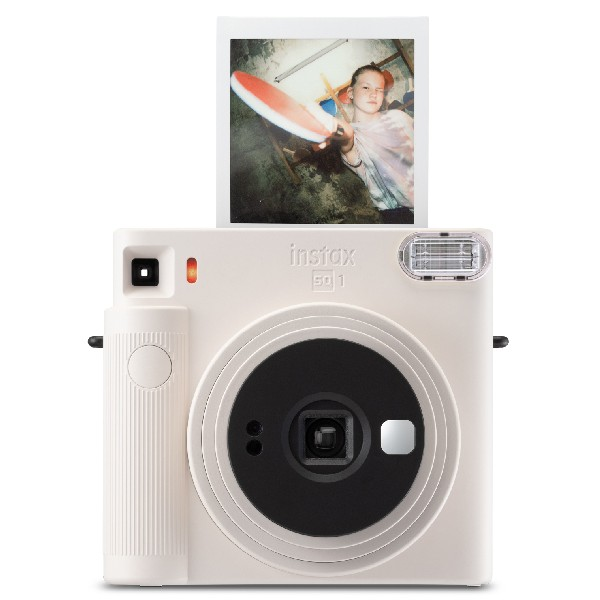 instax SQ1 Chalk White lifestyle
