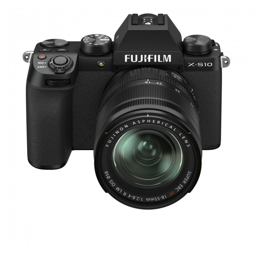 Fujifilm X-S10 overhead