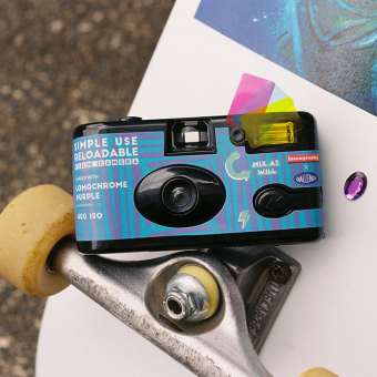 PhotoBite - Lomography × Challenger Special Edition Simple Use Camera Revealed