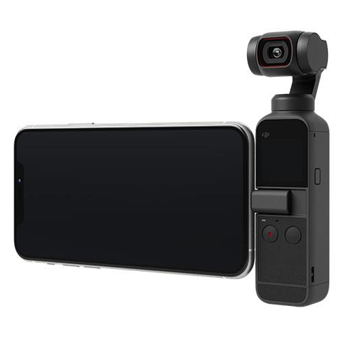 DJI POCKET 2 with Smartphone