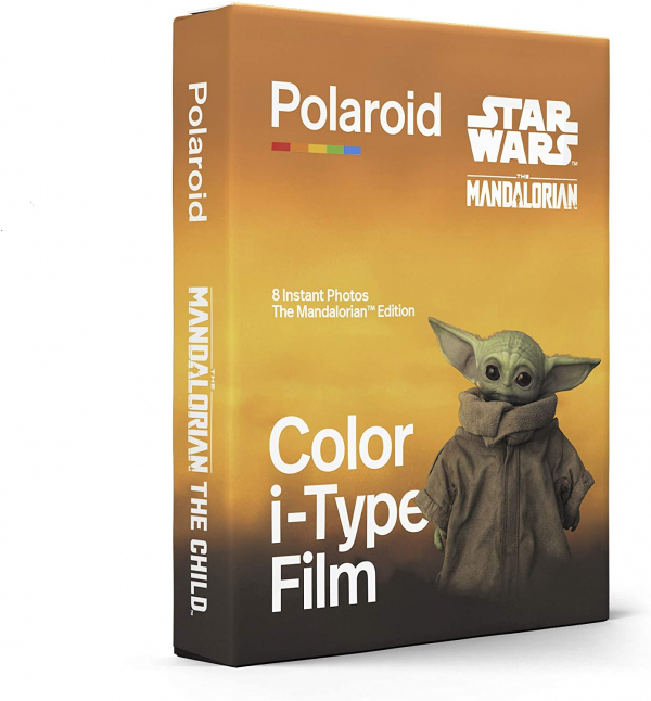 POLAROID I-TYPE COLOR THE MANDALORIAN EDITION front side