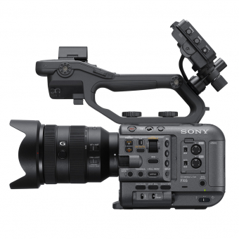 PhotoBite - Sony FX6 Full Frame Cinema Line Video Camera Lands: Pimped A7s III or Mini FX9?