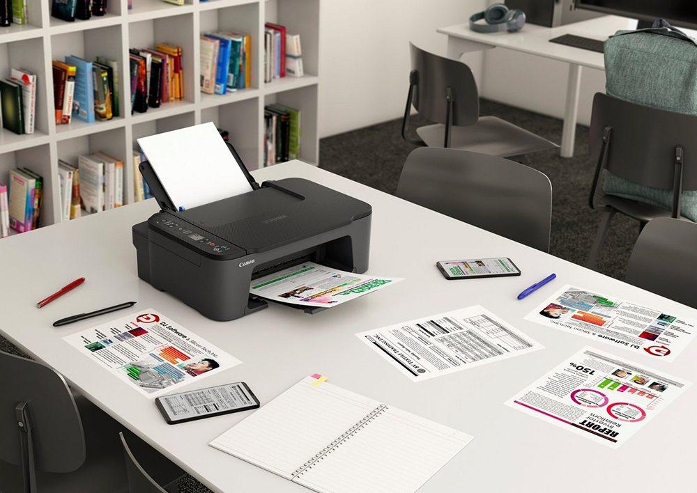 PIXIMA TS3450 on a desk