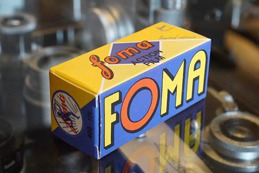 Foma 120 action film box