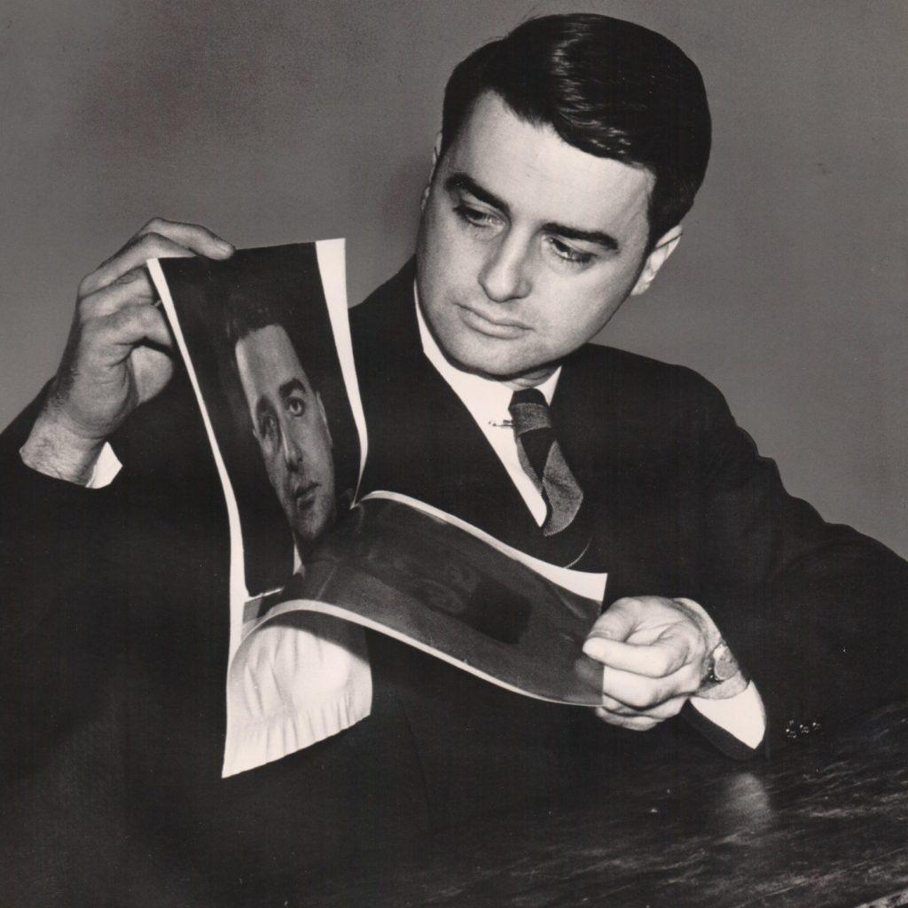 Edwin Land and his revolutionary Polaroid instant camera