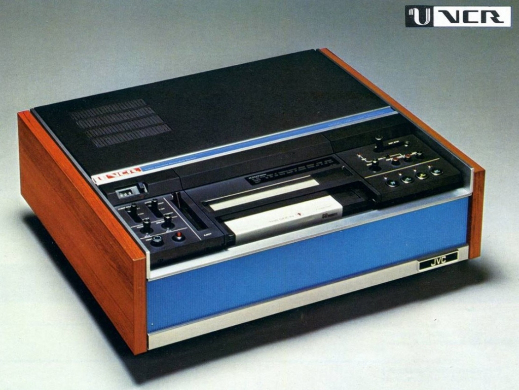 U-Matics were aimed at money-no-object home users (JVC)