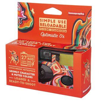 PhotoBite - Lomography Simple Use Optimistic Ox Edition Revealed