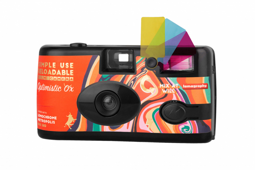 Lomography Simple Use Reloadable Camera Optimistic Ox Edition camera shot 2