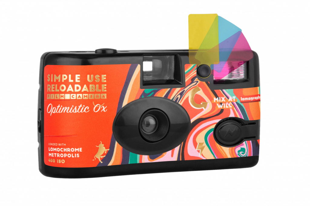 Lomography Simple Use Reloadable Camera Optimistic Ox Edition camera shot 1