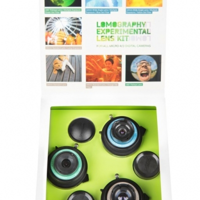 Lomography Experimental Lens Kit packaging