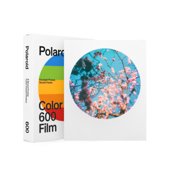 PhotoBite - Polaroid Round Frame Film Makes a Comeback