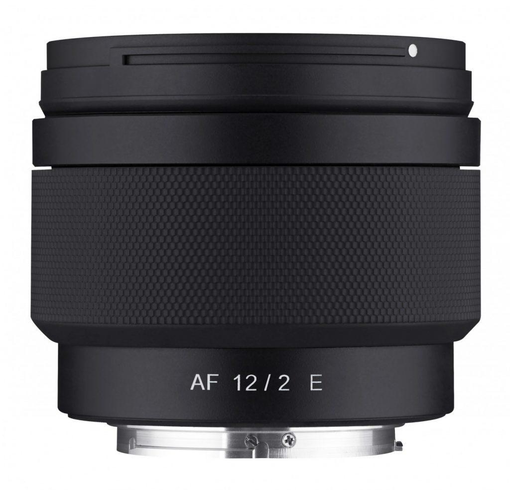 Samyang-AF-12mm-F2-E-side-no-hood