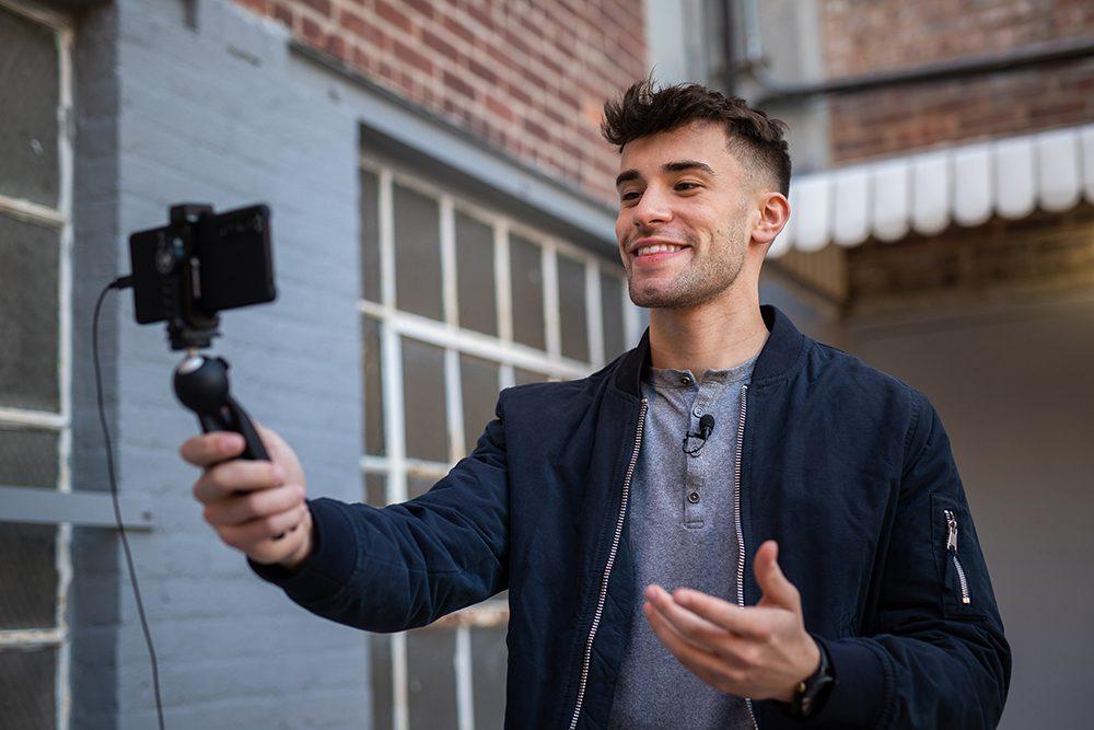 Sennheiser XS Lav Mic vlogger