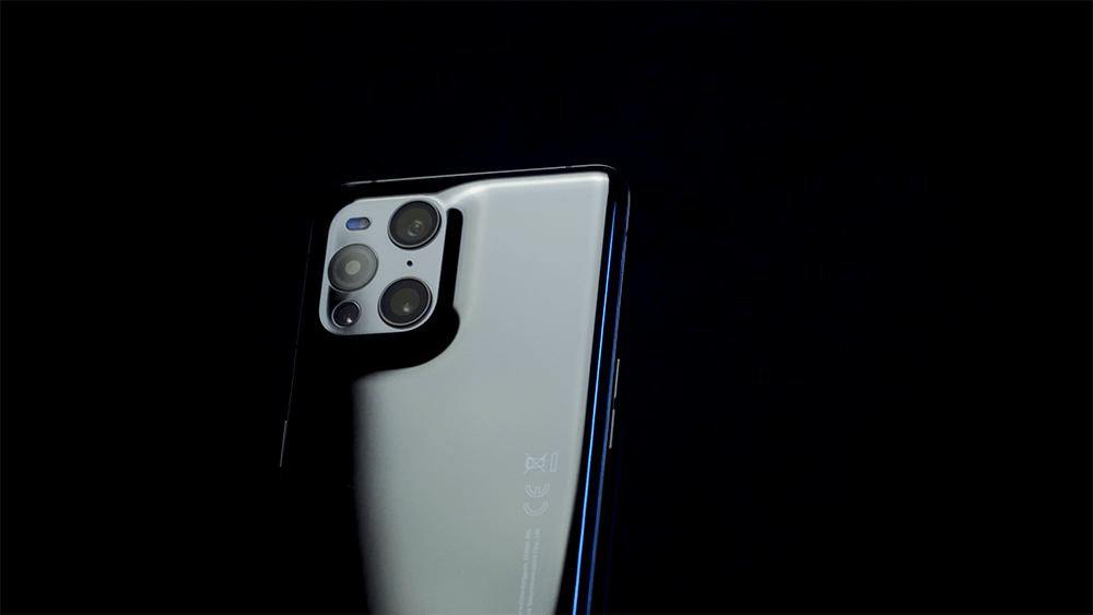 Oppo Find X3 Pro camera cluster