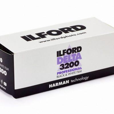 Ilford Delta 3200 120 Black & White Film-4