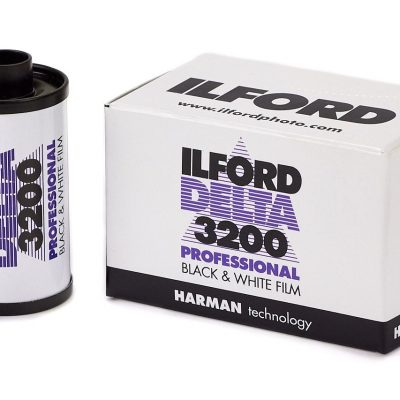 Ilford Delta 3200 35 mm Film-packaging