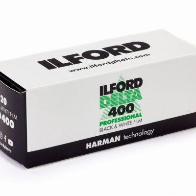 Ilford Delta 400 120 Black & White Film-box-2
