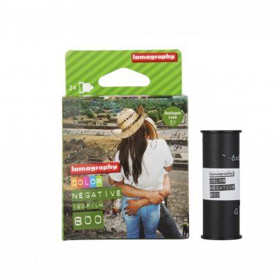 Lomography Color Negative 120 ISO 800 Triple Pack 2