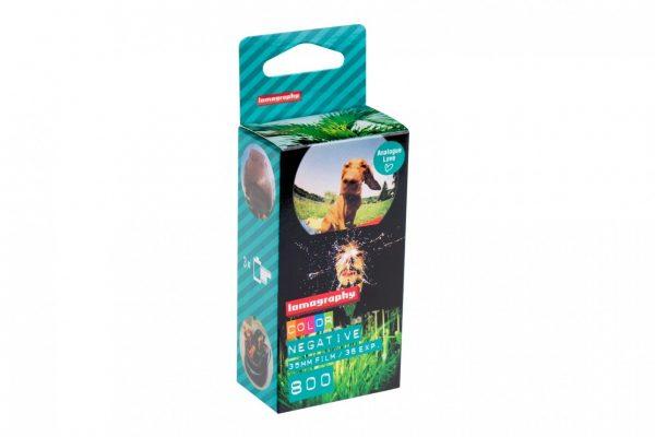 Color Negative 35 mm ISO 800 3 rolls box
