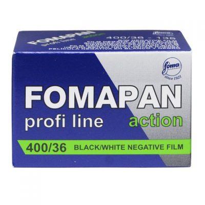 Fomapan Action 400 35mm Film box