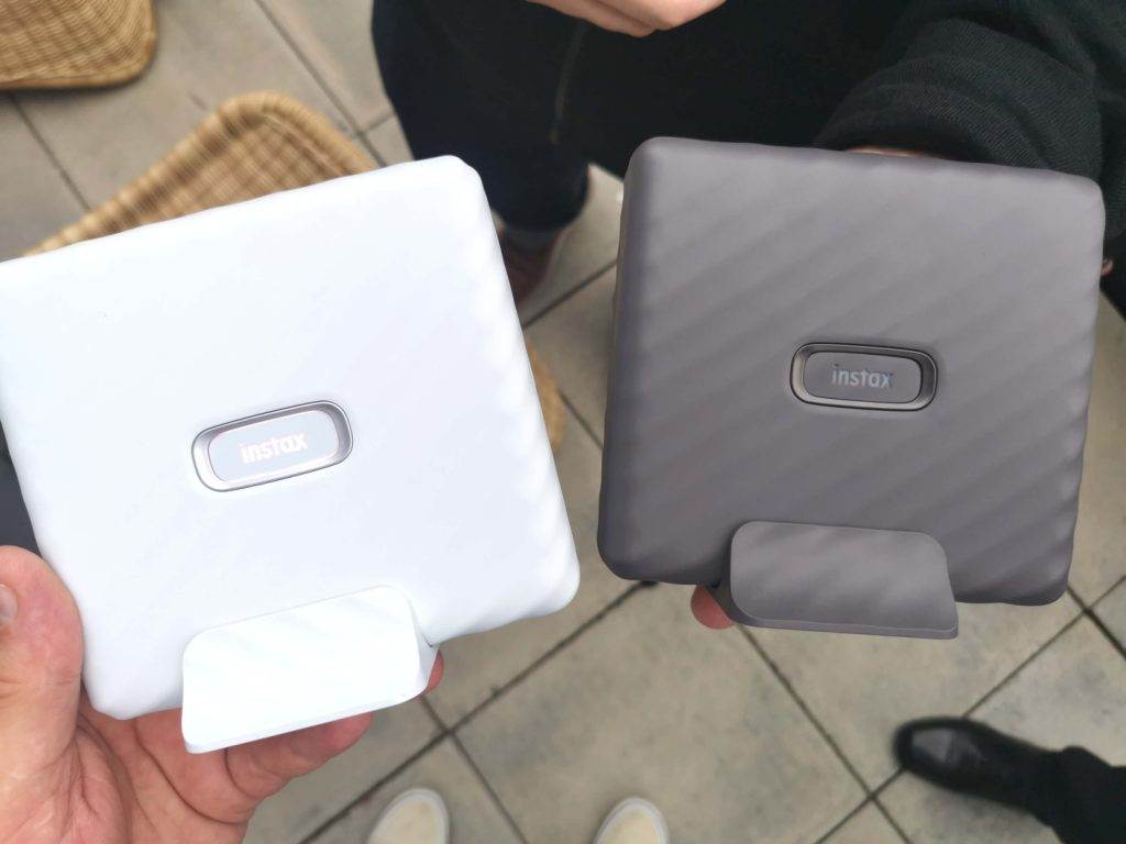 instax Link Wide Mocha Grey and Ash White