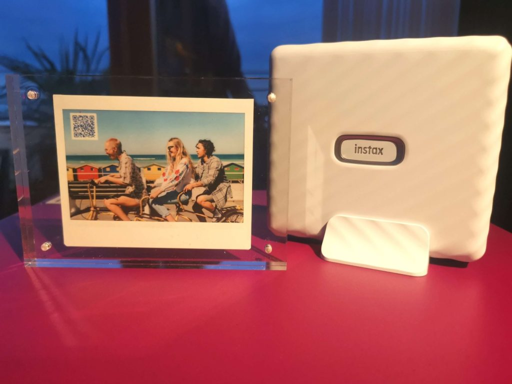 instax Link Wide with print