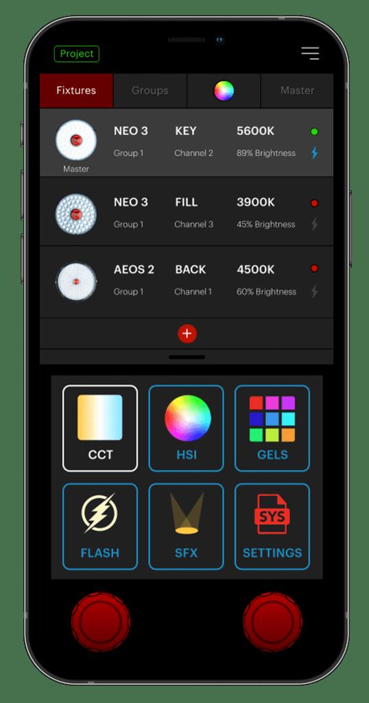 Rotolight Mobile Application